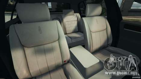 Lincoln Town Car 2006 v1.0 para GTA 4 vista interior