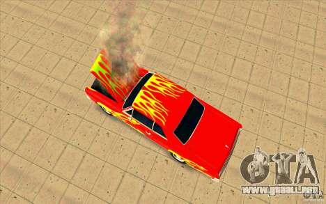 Dead car para GTA San Andreas tercera pantalla