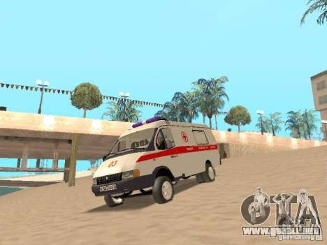 Ambulancia gacela 2705 para GTA San Andreas left
