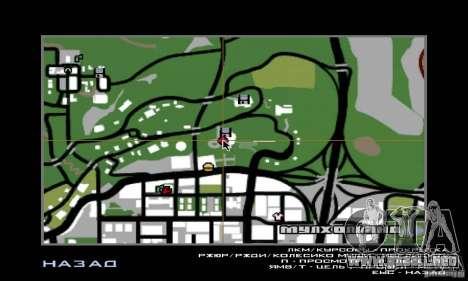 Guerra del aire para GTA San Andreas sexta pantalla