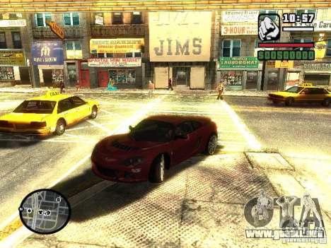 Lotus Europe S para la visión correcta GTA San Andreas