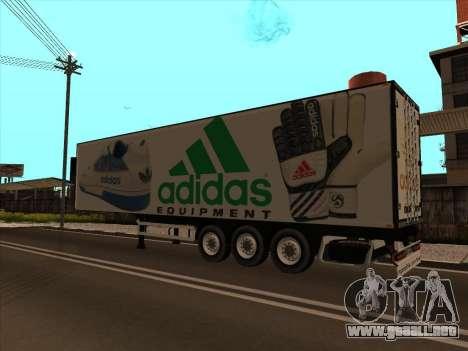 Remolque Adidas para GTA San Andreas