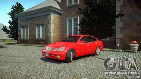 Toyota Aristo para GTA 4