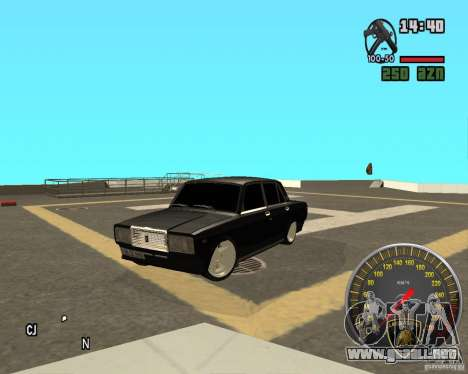 VAZ 2107 DuB para GTA San Andreas