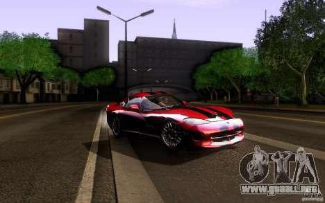 Dodge Viper GTS Coupe TT Black Revel para GTA San Andreas