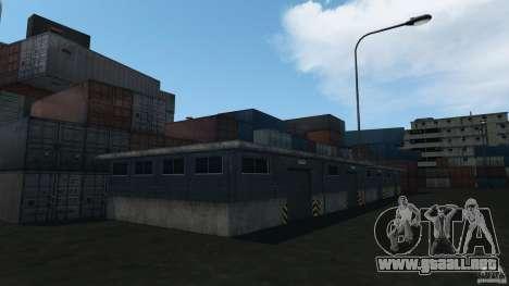 Tokyo Docks Drift para GTA 4 octavo de pantalla