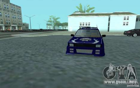 Yugo 45 Tuneable para vista lateral GTA San Andreas
