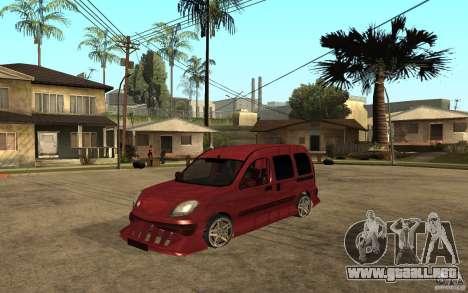 Renault Kangoo Tuning para GTA San Andreas
