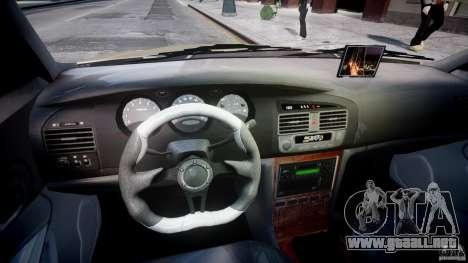Chevrolet Evanda para GTA 4 vista hacia atrás
