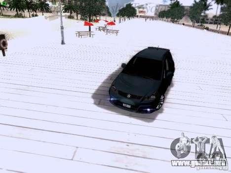Suzuki SX4 Sportback 2011 para vista inferior GTA San Andreas