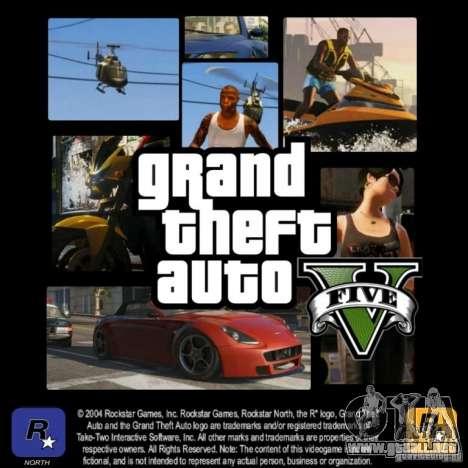 GTA 5 LoadScreens para GTA San Andreas sucesivamente de pantalla