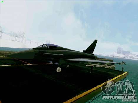 Eurofighter-2000 Typhoon para GTA San Andreas