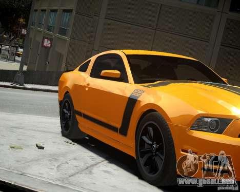 Ford Mustang Boss para GTA 4 left