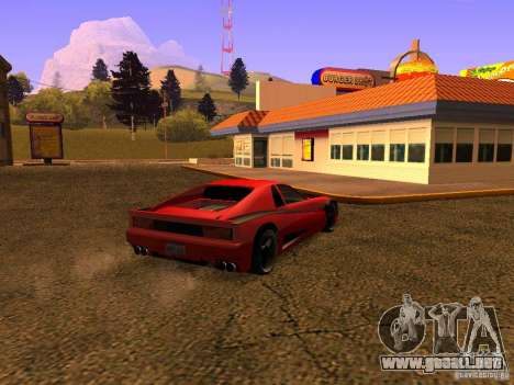 New Cheetah para GTA San Andreas left