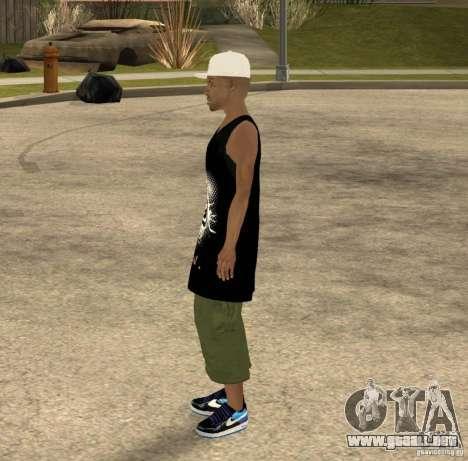 Cone Crew Skin para GTA San Andreas tercera pantalla