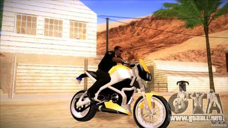 Buell Lightning 1200 para GTA San Andreas left