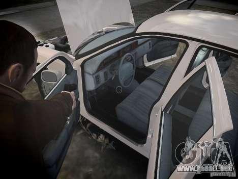 Chevrolet Caprice 1993 Rims 1 para GTA 4 vista desde abajo