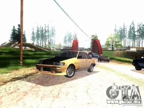 Toyota Corolla AE86 Levin para GTA San Andreas