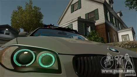 BMW 135i HellaFush para GTA 4 Vista posterior izquierda