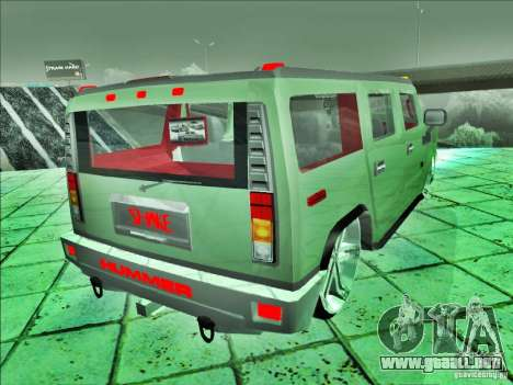 Hummer H2 Phantom para GTA San Andreas left