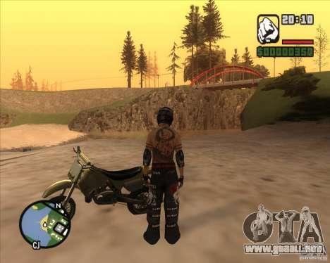 El piloto de combustible para GTA San Andreas tercera pantalla