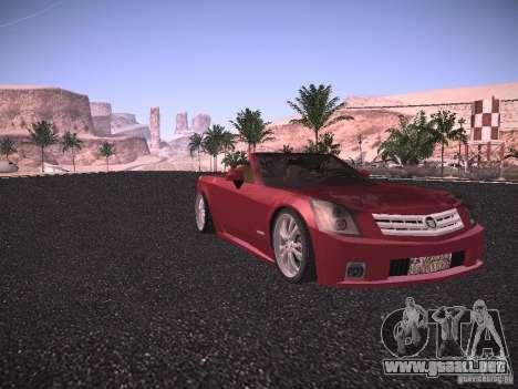 Cadillac XLR 2006 para GTA San Andreas left