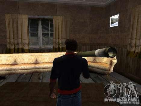 MANPADS aguja 2 para GTA San Andreas tercera pantalla