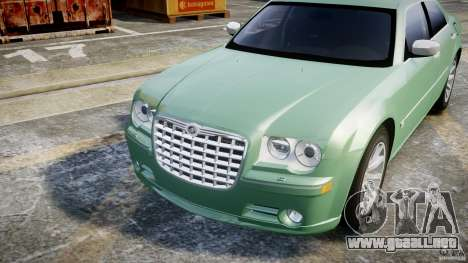 Chrysler 300C SRT8 Tuning para GTA 4 vista lateral