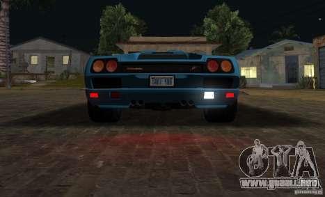 Lamborghini Diablo SV V1.0 para visión interna GTA San Andreas