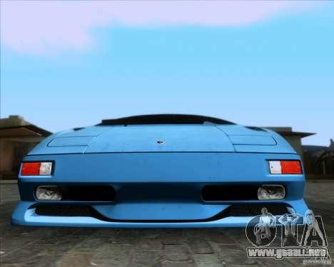 Lamborghini Diablo SV V1.0 para el motor de GTA San Andreas