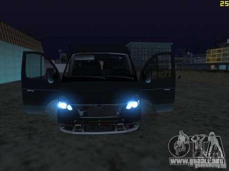 22172 GAS sable para la visión correcta GTA San Andreas
