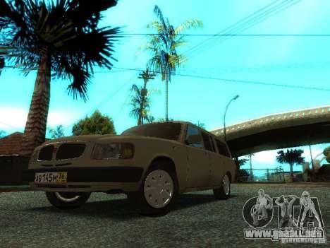 GAZ Volga 310221 Wagon para GTA San Andreas left