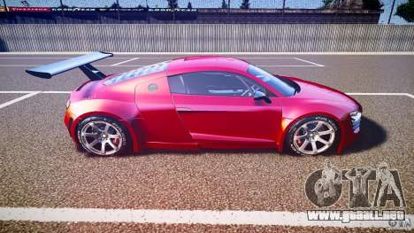 Audi R8 para GTA 4 vista interior
