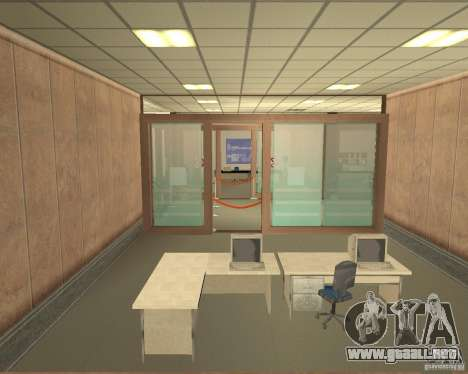 Banco en Los Santos para GTA San Andreas quinta pantalla