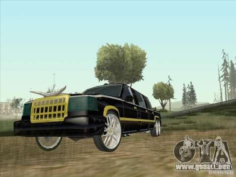 Limousine para GTA San Andreas left