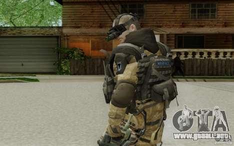 Un ingeniero de Warface para GTA San Andreas tercera pantalla