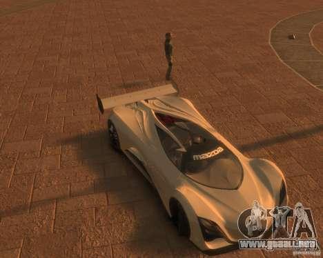 Mazda Furai para GTA 4 Vista posterior izquierda