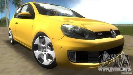 Volkswagen Golf 6 GTI para GTA Vice City