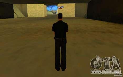 HQ skin lapd1 para GTA San Andreas segunda pantalla