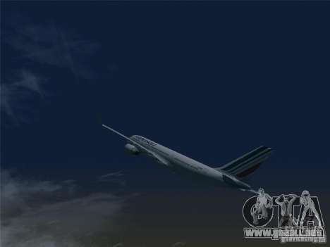 Airbus A330-200 Air France para GTA San Andreas left