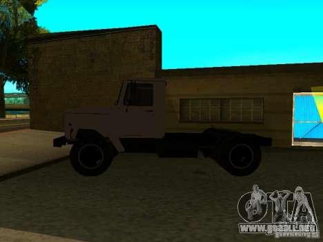 GAZ 3309 tractor para GTA San Andreas left