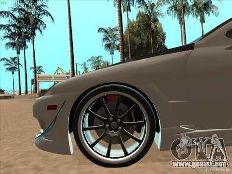 Toyota Soarer (JZZ30) para la vista superior GTA San Andreas