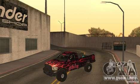 Dodge Power Wagon Paintjobs Pack 1 para GTA San Andreas