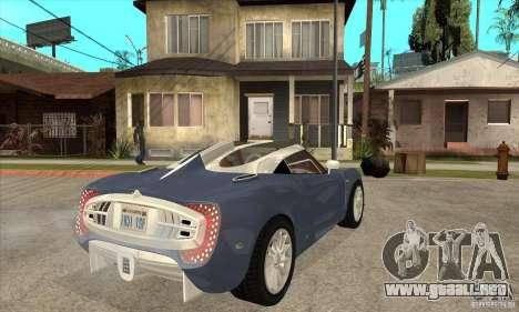 Spyker C12 Zagato para la visión correcta GTA San Andreas