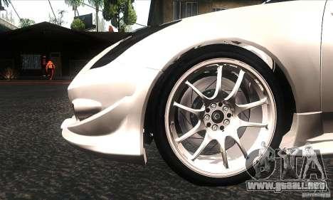 Toyota Celica-SS2 Tuning v1.1 para la vista superior GTA San Andreas