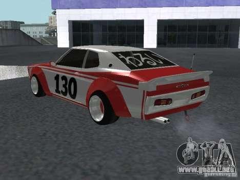 Nissan Laurel C 130 Bosozoku para la visión correcta GTA San Andreas
