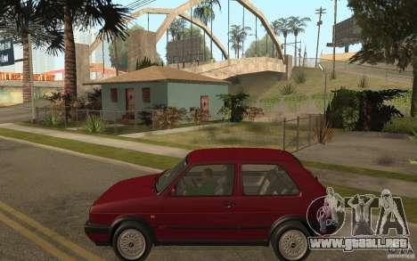 VW Golf Mk2 GTI para GTA San Andreas left