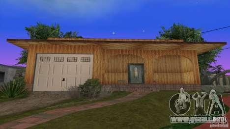 Nuevas texturas de casas y garajes para GTA San Andreas segunda pantalla
