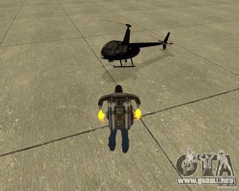 Transporte aéreo Pak para las ruedas de GTA San Andreas