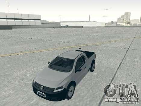 Volkswagen Saveiro 1.6 2009 para la visión correcta GTA San Andreas